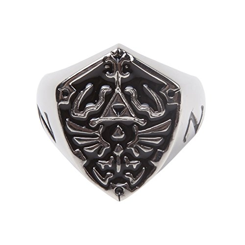 The Legend of Zelda Ring Hyrule Signet Metal Shield
