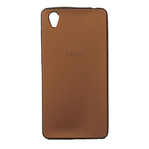 VIVO Y51 BROWN Plain Soft Case Back Cover