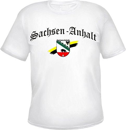 SACHSEN-ANHALT T-Shirt Weiß