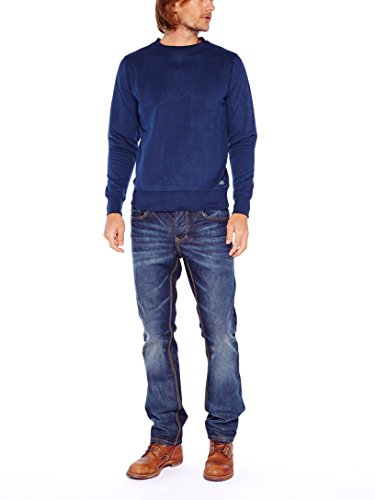 Colorado Denim Herren Sweatshirt Richard Blau (NAVY 4010)