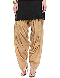 Black Macy Women's Cotton Patiala Salwar Bottoms (Combo Of 4) (Free Size)