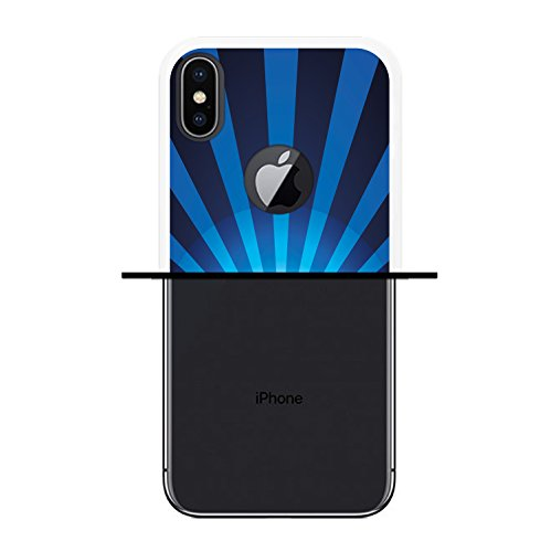 iPhone X Hülle, WoowCase Handyhülle Silikon für [ iPhone X ] Ninja Logo Handytasche Handy Cover Case Schutzhülle Flexible TPU - Transparent Housse Gel iPhone X Transparent D0407