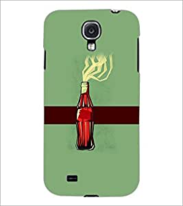 PrintDhaba Bottle D-4170 Back Case Cover for SAMSUNG GALAXY MEGA 6.3 (Multi-Coloured)