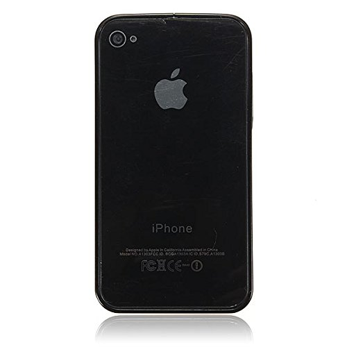Ultra-mince cadre en aluminium en mŽtal Bumper Case Boucle pour l'iPhone 4 gris