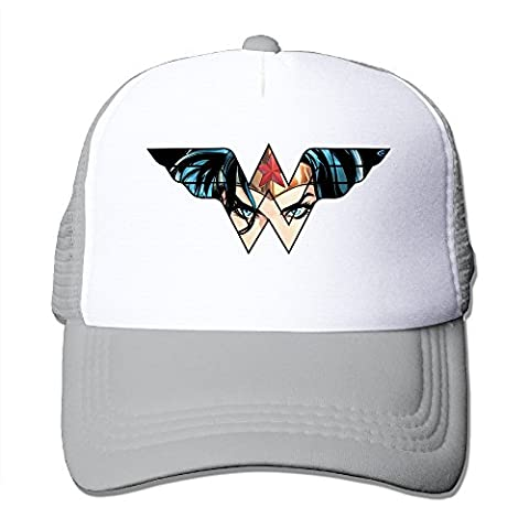 Wonder Woman Bassball Cap Trucker Hat With Mesh Caps