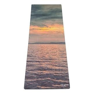 Yoga Design Lab La Esterilla de Yoga Combo 3.5mm. Dos en Uno   Antideslizante   Acolchada   Ecológica   Lavable a la Máquina
