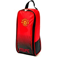 Manchester United FC Football Team Boot Shoe Zip Bag with Handle