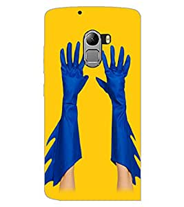 LENOVO K4 NOTE HANDS Back Cover by PRINTSWAG