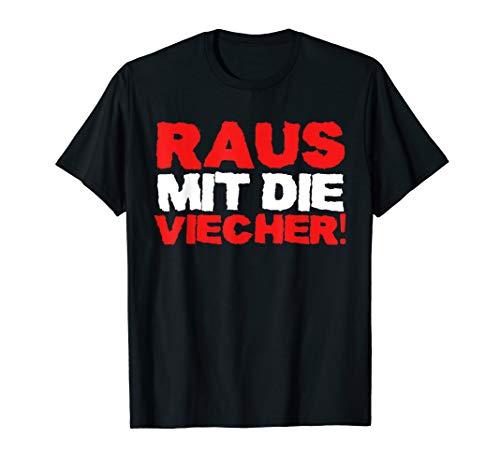 Lustiges Raus Mit Die Viecher T-Shirt I Ritter Meme T-Shirt