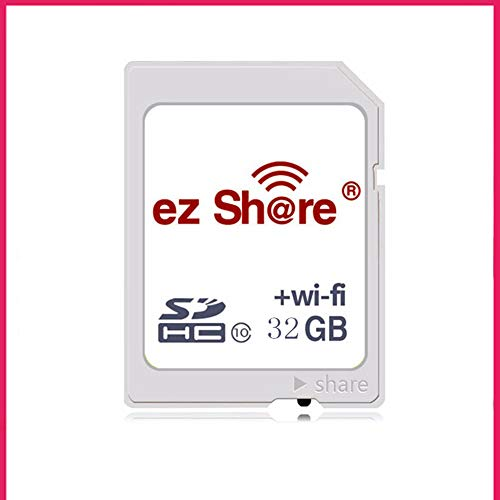 IOIOA Kamera WiFi SD-Karte, White Business Version Foto/Video-Speicherkarte mit drahtloser Übertragung (16 GB, 32 GB, 64 GB, 128 GB, 256 GB),32gb