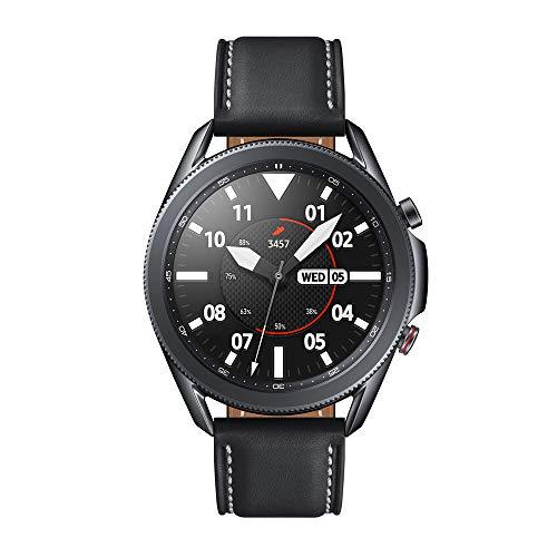 Oferta de Samsung Galaxy Watch3 Smartwatch de 45mm I LTE I Reloj inteligente Color Negro I Acero [Versión española]