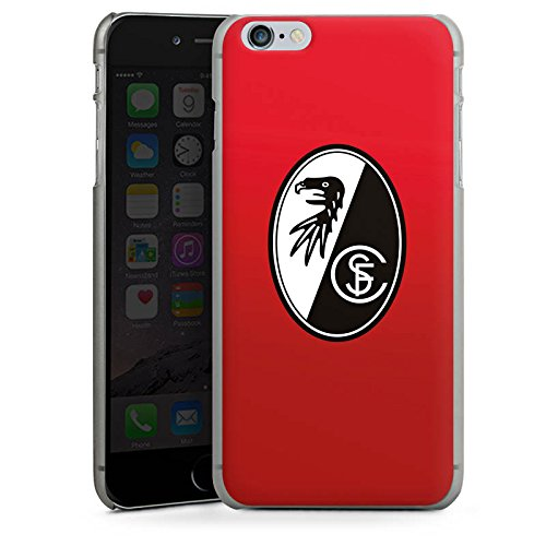 Apple iPhone X Silikon Hülle Case Schutzhülle SC Freiburg Fanartikel SCF Hard Case anthrazit-klar