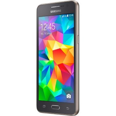 Samsung SM-G530FZAADBT Galaxy Grand Prime Smartphone (12,4 cm (5 Zoll) Display, 8 Megapixel Kamera, 5 Megapixel Frontkamera, 8GB Speicher, Quad Core Prozessor, 1,2GHz, micro-USB 2.0, Bluetooth, Android 4.4) - 2 Handy Grand Samsung