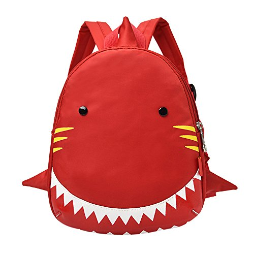 YWLINK Baby Jungen MäDchen Kinder Süß Shark Muster Tiere Rucksack Kindergarten Bunt Schulrucksack Daypacks