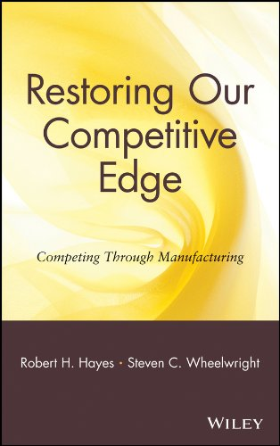Restoring Our Competitive Edge: Competing Through Manufacturing por Robert H. Hayes