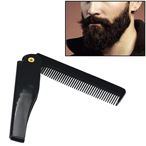 Peigne De Barbe Pour Hommes,OverDose Beard Comb Beauty Tools Portable
