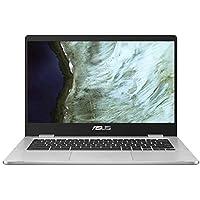 "ASUS Chromebook C423NA-EC0342 Ordinateur Portable Tactile 14"" FHD (Celeron N3550, RAM 4Go, 32Go EMMC, Chrome OS) Clavier AZERTY Français"