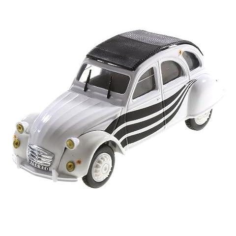 Voiture miniature Citroen 2cv Wella 1/43 Norev coches diecast réduit