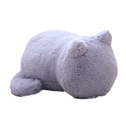 terferein Dekokissen Kissen Chubby Cat Style Plüsch Puppe Niedlichen Cartoon Komfortable Dekoration Kissen