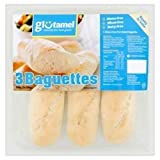 Glutamel Baguettes 3x100g (Pack of 4)