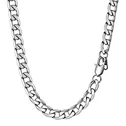 PROSTEEL Hiphop Necklace for Men Gifts 9MM 26Inch 316L Stainless Steel Neck Chains