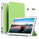 ELTD Hülle für Huawei MediaPad M3 Lite 10 - Ultra Schlank Smart Cover Tasche Schutzhülle Case für Huawei MediaPad M3 Lite 10 mit Standfunktion, Grün