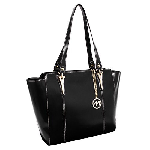13-in-leather-shoulder-tote-in-black