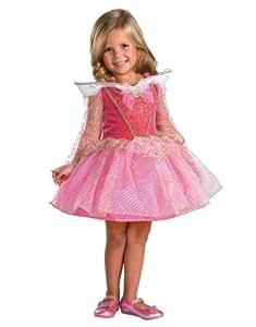 "Sleeping Beauty Costume, Kids Aurora Ballerina Toddler/Child Costume Outfit, Medium Toddler, Age 3 - 4, HEIGHT 3' 3"" - 3' 6"""