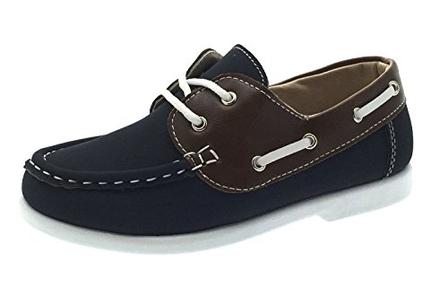 Strong Souls Boys Boat Deck Shoes Velcro or Lace Up Loafers Casual Moccasins Kids Size UK 6-12
