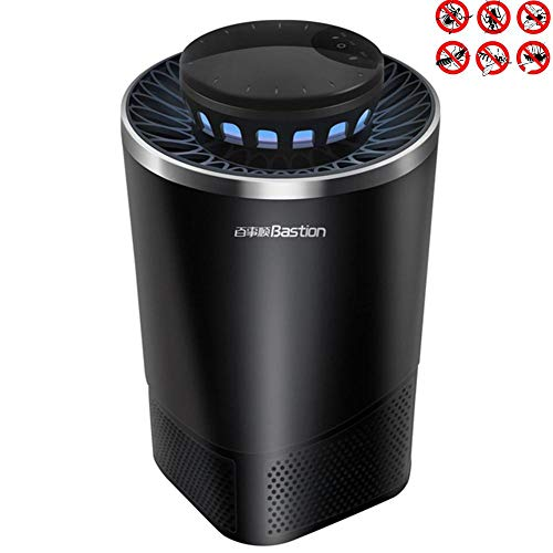 7 Watt-tier-licht (AISHUAIGE Insektenvernichter Elektrisch LED Mückenfalle Indoor Insektenfalle Mit Vakuum Ventilator Zum Fangen von Kleinen Insekten Vernichter 60 m² UV-Licht 7w)