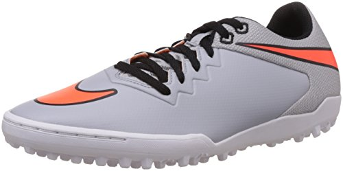 Nike Men's Hypervenomx Pro Tf Wolf Grey,Total Orange,White,Black Football Boots - 6 UK/India (40 EU)(7 US)  available at amazon for Rs.2499