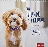 Für Hundefreunde 2020: Dekorativer Wandkalender mit Monatskalendarium -