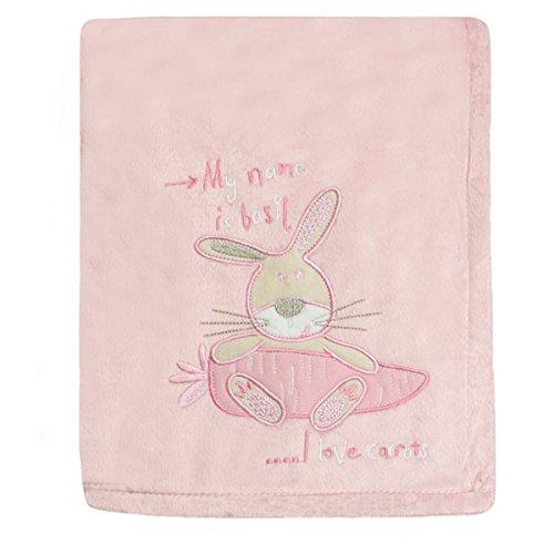Snuggle Baby Bunny Couverture pour bébé, Rose, Moses/Berceau/landau