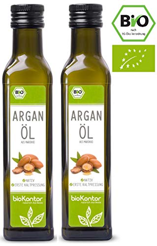Arganöl Bio - nativ, kaltgepresst, 100% rein von bioKontor (500ml) -