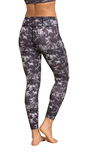 Zakti Patterned Leggings Frantumato vetro