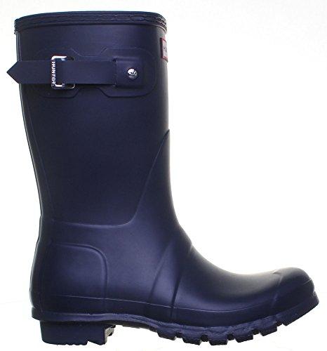 SV Hunter - Stivali Wellington da donna bassi, originali, di gomma, colore: Navy Blu (Blu)