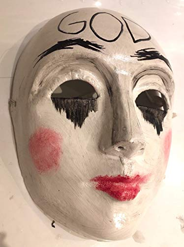 B-kreativ die Säuberung Anarchie 2 Maske Halloween Fancy Kleid Horror Gott ' UK Seller ' (Kleid Die Säuberung)
