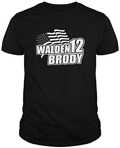 Camiseta de NIÑAS Homeland Drama Thriller Estadounidense Carrie Madison Brody 7-8 Años