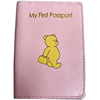 My First Passport, Baby Pink Real Leather passport cover