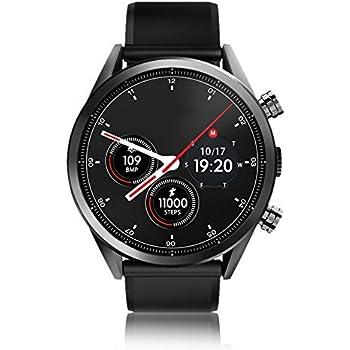 Bewinner Reloj Inteligente para Hombres, 4G Rastreador de ...