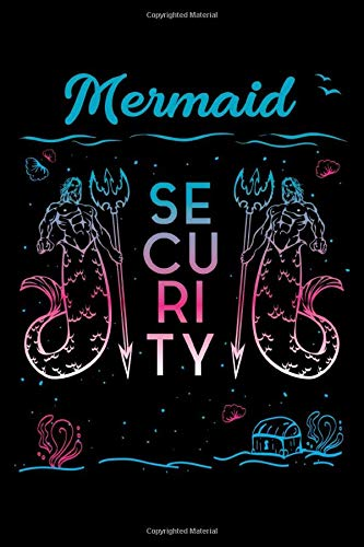 Mermaid Security: Guitar Tab Notebook And Music
