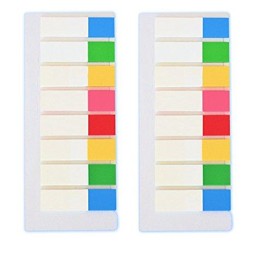 400 x Pagemarker Haftstreifen Notes transparente Streifen
