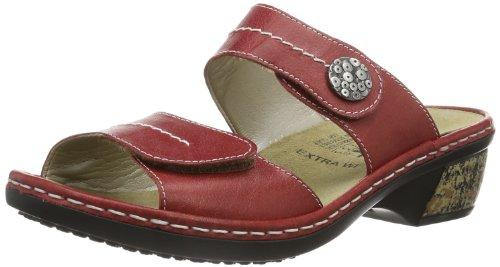 Rieker Rieker Damen Pantolette, Sabot donna Rosso (Rot (rosso 33))