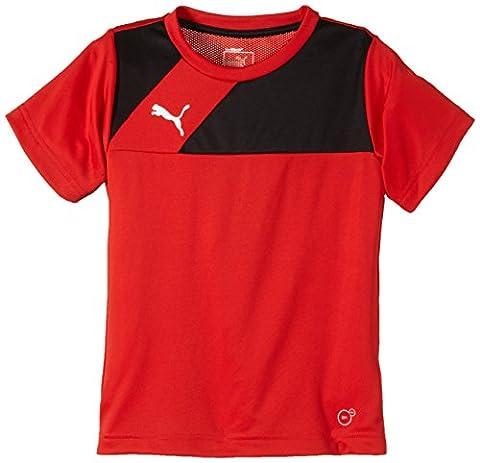 PUMA Kinder T-shirt Esquadra Training Jersey, red-black, 116, 654379 14