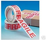 1 x ROLL FRAGILE PACKING TAPE,66m x 50mm