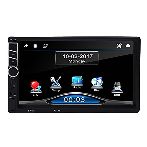 Matefield multimédia de voiture universel GPS de voiture jouer FM Radio Navigation GPS lecteur MP5