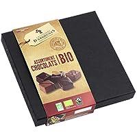 Assortiment de chocolats noir, lait Bio/Fairtade - Coffret prestige Noël Chevaliers d'Argouges 155g
