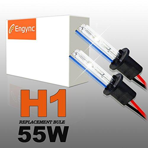 Preisvergleich Produktbild Engync 2x 55W HID Xenon Licht Ersatzlampe Scheinwerfer -H1-6000K-3 Jahre Garantie