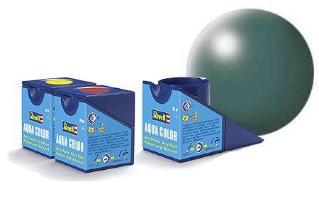 revell-leaf-green-silk-colori-acrilici-18ml-vaso-di-aqua-modello-colore-della-vernice-per-la-modella