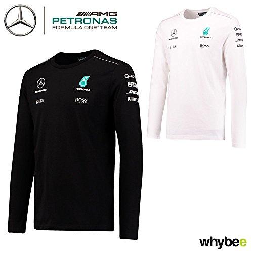 567cf7bf5f 2017 Mercedes-AMG F1 Lewis Hamilton Long Sleeve Mens T-Shirt Tee Formula 1  Team